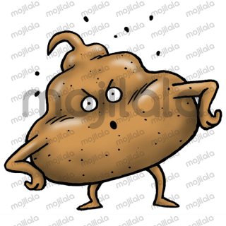 EEK the cute poop will pop your day!