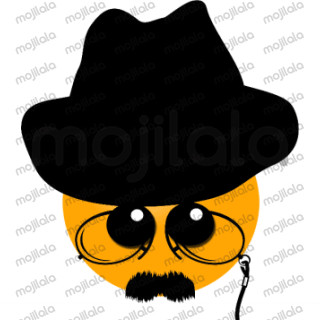 Funny yellow hatter, he can be sad, happy, dangerous...