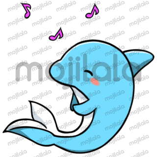 Finn is a cute, happy little blue dolphin that loves company. Have her brighten up your day!