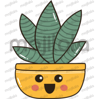 Cute and colorful Cactus emojis