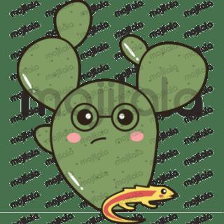 Cute and colorful Cactus emojis