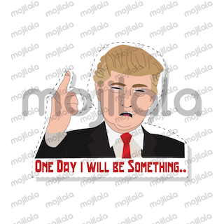 Donald Trump emoji stickers