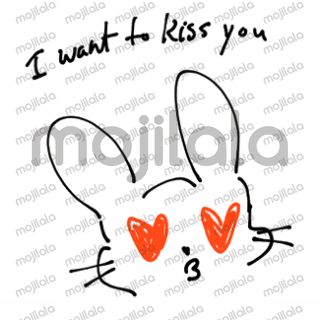 Stickers to express your desire to receive more love.