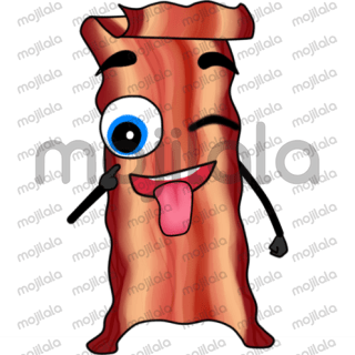Express yourself through bacon. Bacon makes everything better, and it will make your iMessage better too! Express yourself with a sense of humor, extra flavor, and give people a taste they will never forget. If you don't know how to say it, let our bacon do the work for you. Don't miss these hot-off-the-grill bacon stickers! One of the coolest emoji stickers for iMessage.