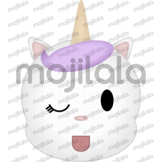 This is Ypuni, a cat unicorn or a unicorn cat.