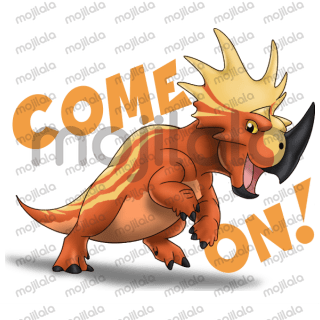 Have fun whit the ultimate dinosaur team! They come as a blast from prehistoric times!