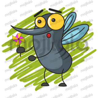 Roger is here! this cute little mosquito is so expressive that you can make him a part of your conversations to be expressive! Download Now!!
