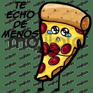 Amor + pizza. No hay un romance más puro que ese.
