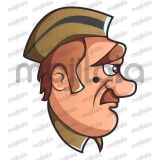 Get expressive with this policeman