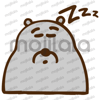 This little stone bear loves you!